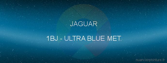 Peinture Jaguar 1BJ Ultra Blue Met.