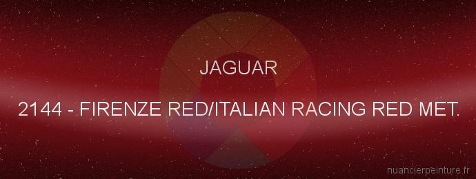 Peinture Jaguar 2144 Firenze Red/italian Racing Red Met.