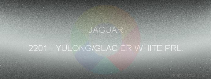 Peinture Jaguar 2201 Yulong/glacier White Prl.
