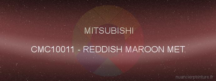 Peinture Mitsubishi CMC10011 Reddish Maroon Met.