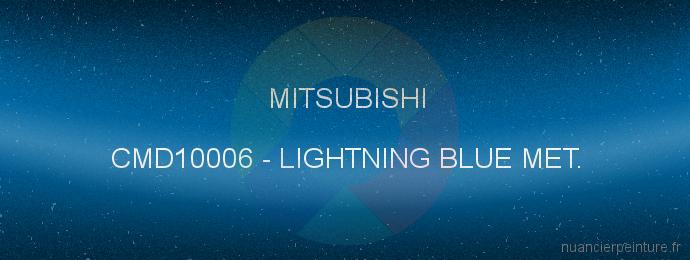 Peinture Mitsubishi CMD10006 Lightning Blue Met.