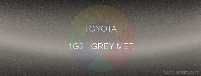 Peinture Toyota 1G2 Grey Met.