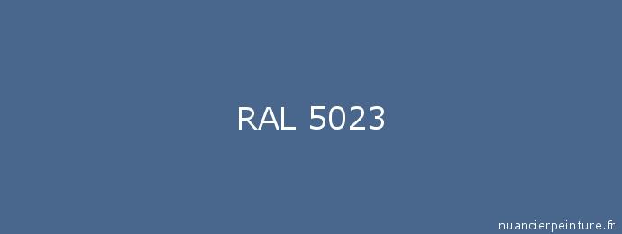 RAL 5023 : Peinture RAL 5023 (Bleu distant ...